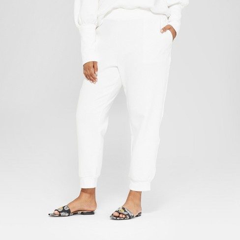 3157c5df1015e Women s Plus Size Pull On Track Ankle Pants - Who...   Target