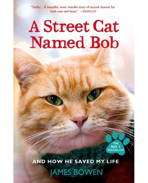 Street Cat Named Bob : And How He Saved My Life (Paperback) (James Bowen) - image 1 of 1