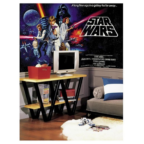 RoomMates Star Wars Classic Chair Rail Prepasted Mural 6' x 10.5' - Ultra-strippable - image 1 of 2