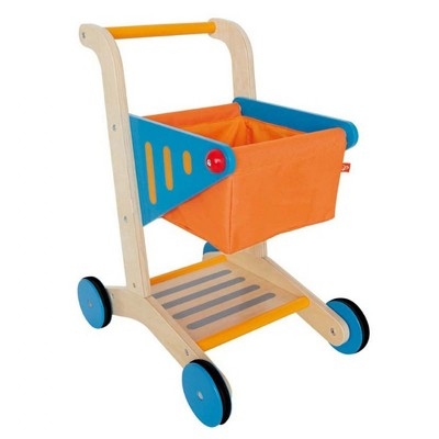 HAPE Kid's Wooden Shopping Cart
