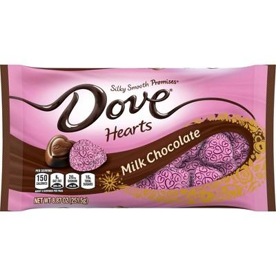 Dove Valentine's Day Milk Chocolate Hearts - 8.87oz