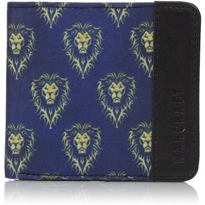 JINX Warcraft Movie Alliance Logo Men's Bifold Wallet