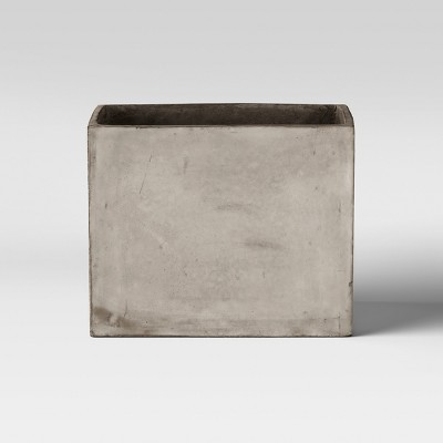 14  Rectangular Concrete Planter - Gray - Project 62™