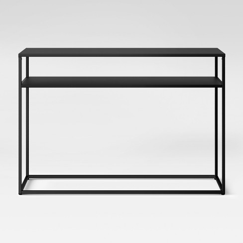 Glasgow Metal Console Table Black