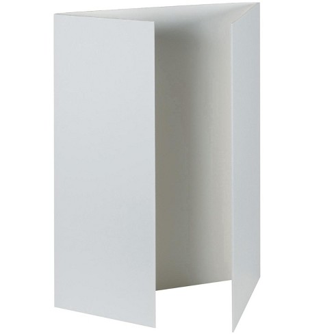 Pacon Foam Tri-Fold Presentation Board, 48 x 36 Inches, 3/16 Inch Thickness, White, pk of 12 - image 1 of 1