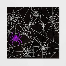 20ct Spider Web Halloween Paper Napkin - Hyde & EEK! Boutique™