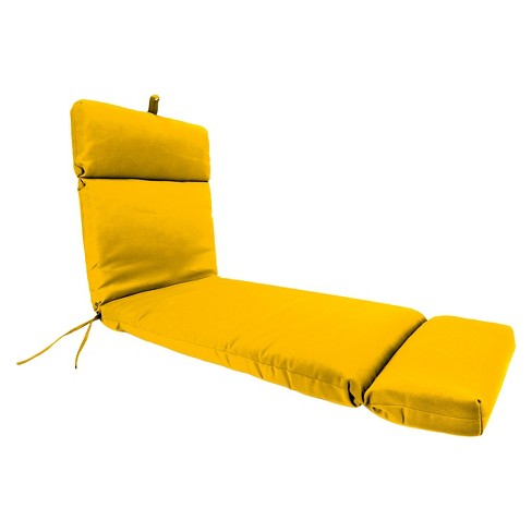 Jordan French Edge Chaise Lounge - Yellow - image 1 of 3