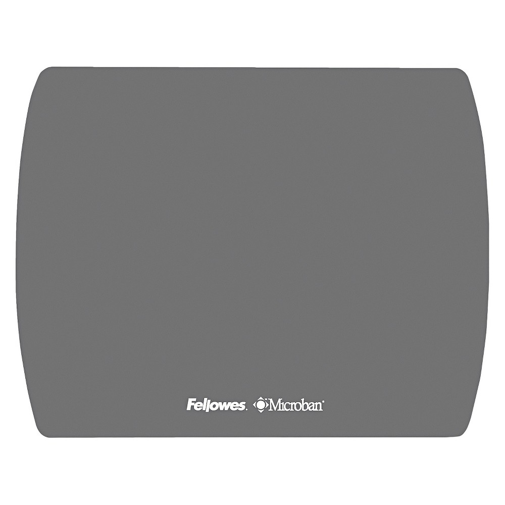Image of Fellowes Microban Ultra Thin Mouse Pad - Graphite