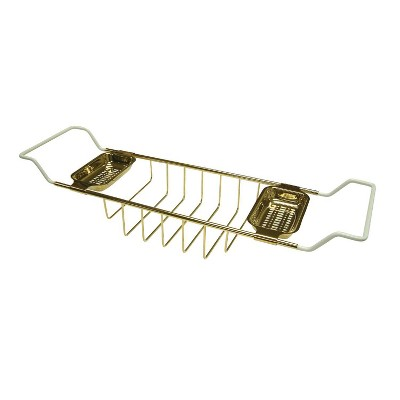Clawfoot Bath Tub Shelf Polished Brass - Kingston Brass