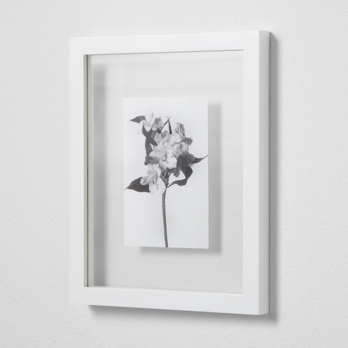 Thin Gallery Float Frame White 8x10 Made By Design Target