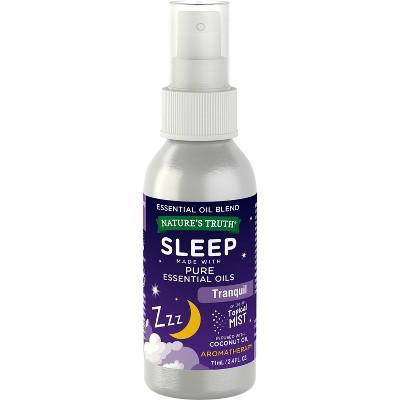 Nature's Truth Sleep Aromatherapy Essential Oil Blend Mist Spray - 2.4 fl oz