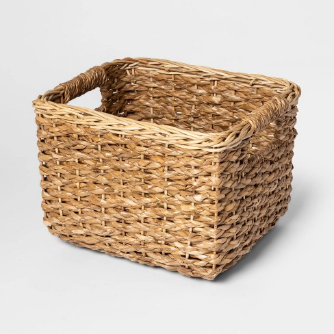 "8""x10"" Aseana Small Milk Crate Natural - Threshold™ - image 1 of 1"