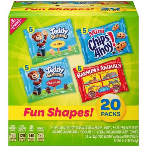 nabisco fun shapes cookies crackers mix 20ct 1o target