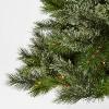 6ft Pre-lit Artificial Christmas Tree Virginia Pine Multicolored Lights - Wondershop™ - image 3 of 4