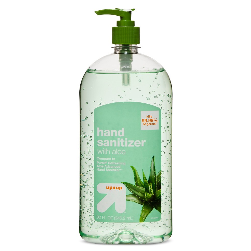 Image of Aloe Hand Sanitizer Gel - 32 fl oz - Up&Up