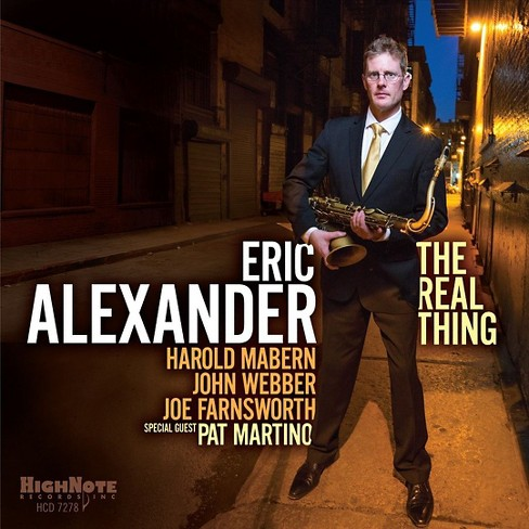 Eric alexander - Real thing (CD) - image 1 of 1