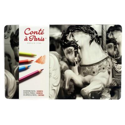Pastel Pencil Set 24ct - Conte