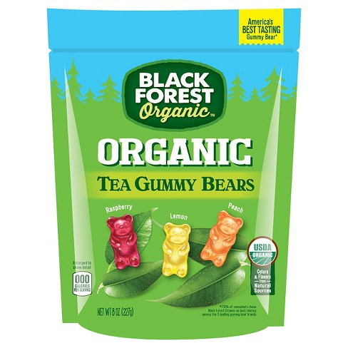 Black Forest Organic Assorted Tea Gummy Bears - 8oz - image 1 of 1