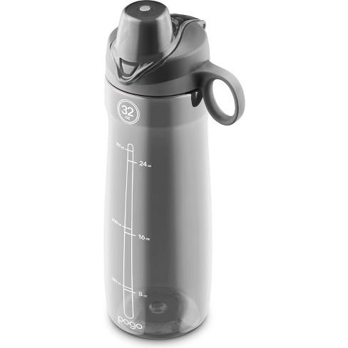 0b5894abf8 Pogo Tritan Plastic Water Bottle 32oz, Chug Lid - Gray : Target