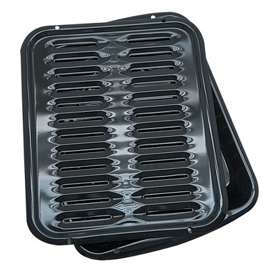 Range Kleen Broiler and Roasting Pan Black