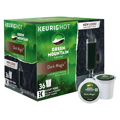 Green Mountain Coffee Dark Magic Dark Roast Coffee - Keurig K-Cup Pods - 36ct