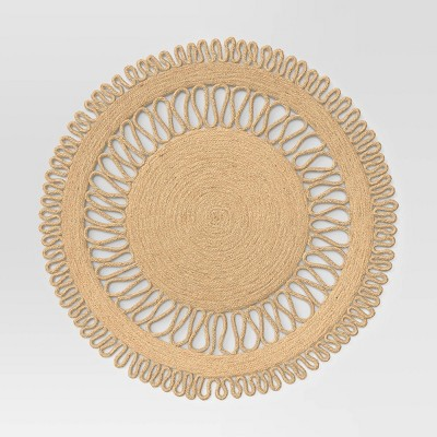Jute Decorative Charger Brown - Threshold™