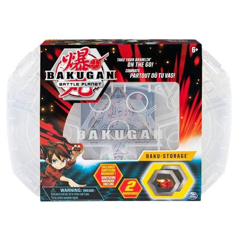 Bakugan Baku-storage Case (White) for Bakugan Collectible Action Figures - image 1 of 4