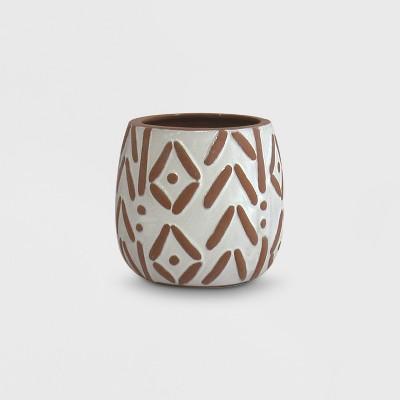 5  Pattern Planter Terracotta - Opalhouse™
