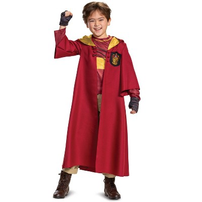 Harry Potter Quidditch Gryffindor Deluxe Child Costume
