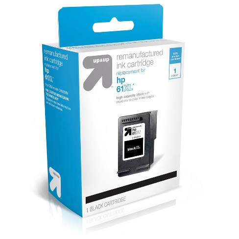 61 Replacement Single & 2pk Ink Cartridges - Black, Tri-color - Up&Up™ - image 1 of 2