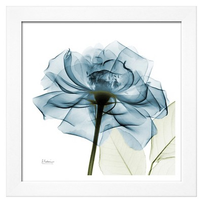 Blue with White Frame