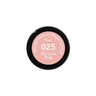 Revlon Super Lustrous Lipstick 025 Sky Line Pink - 0.15oz, Blue Line Pink