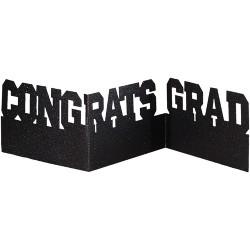 Graduation Congrats Glitter Centerpiece