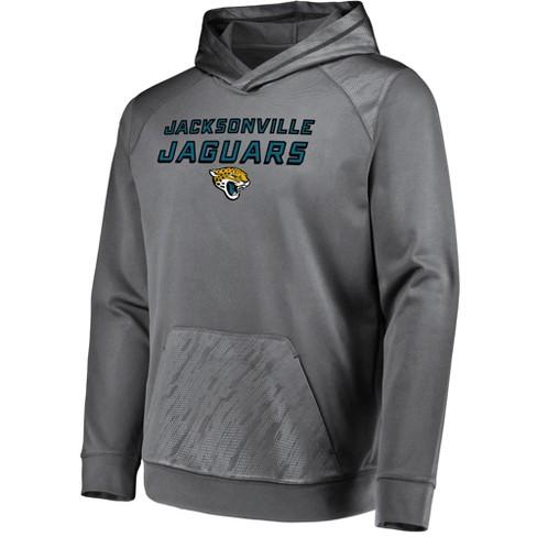 New NFL Jacksonville Jaguars Men's Geo Fuse Gray Embossed Performance  free shipping