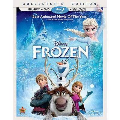 Frozen (Blu-ray + DVD + Digital)