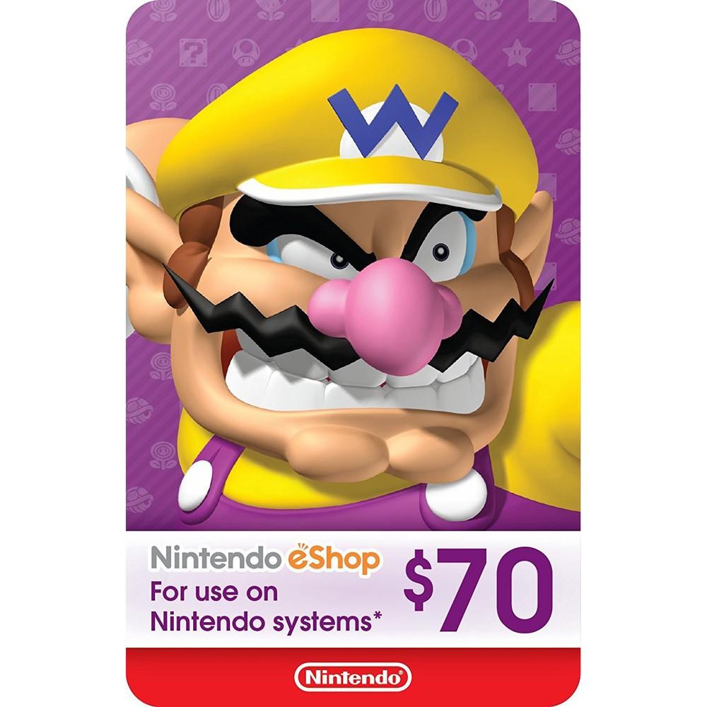 Nintendo eShop Gift Card (Digital)