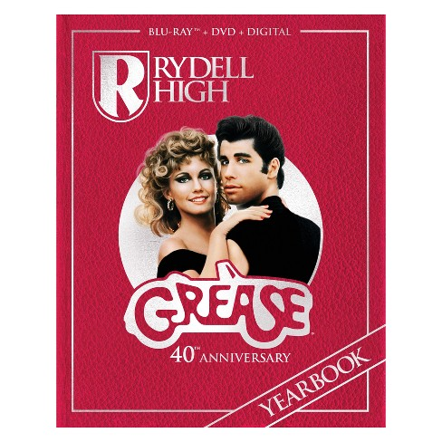 Grease (40th Anniversary DVD Combo w/Digibook & Digital Copy) (Blu-Ray) - image 1 of 1