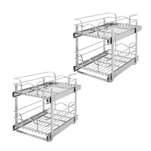 Rev-A-Shelf 5WB2 Series Wire Organizer for 24 x 20.5 Inch Cabinets (2 Pack) - image 1 of 4