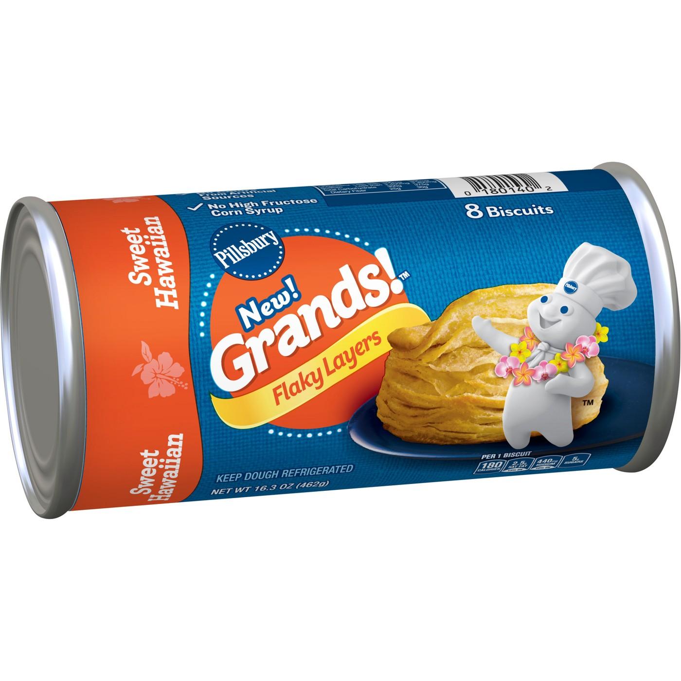 Pillsbury Grands! Sweet Hawaiian Biscuits - 8ct / 16.3oz - image 1 of 3