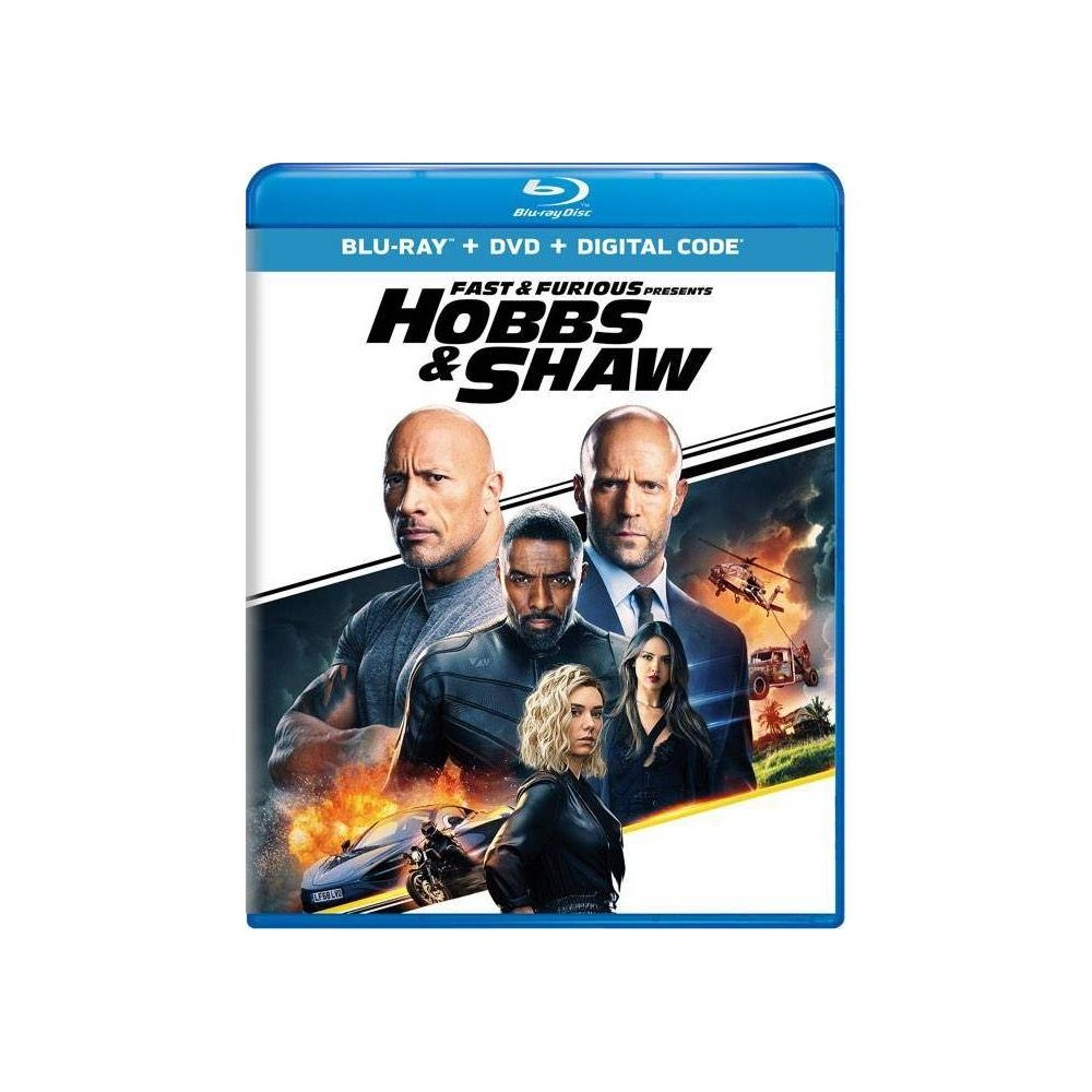 Fast & Furious Presents: Hobbs & Shaw (Blu-Ray + DVD + Digital) was $26.99 now $13.0 (52.0% off)
