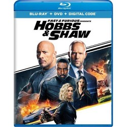 Fast & Furious Presents: Hobbs & Shaw (Blu-Ray + DVD + Digital)