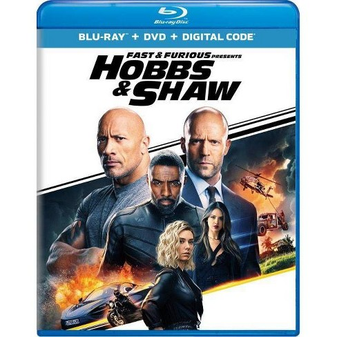 Fast & Furious Presents: Hobbs & Shaw (Blu-Ray + DVD + Digital) - image 1 of 1