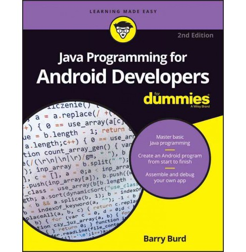 Java Programming For Android Developers For Dummies Paperback