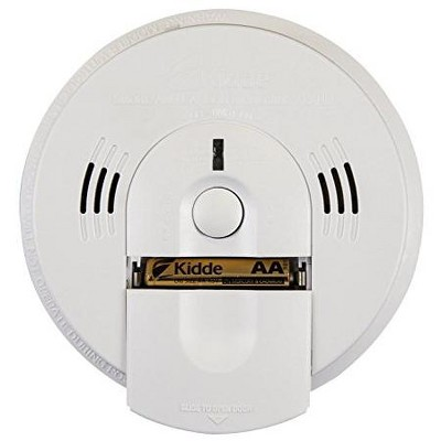 Kidde KN-COSM-BA Battery-Operated Combination Carbon Monoxide and Smoke Alarm with Talking Alarm.