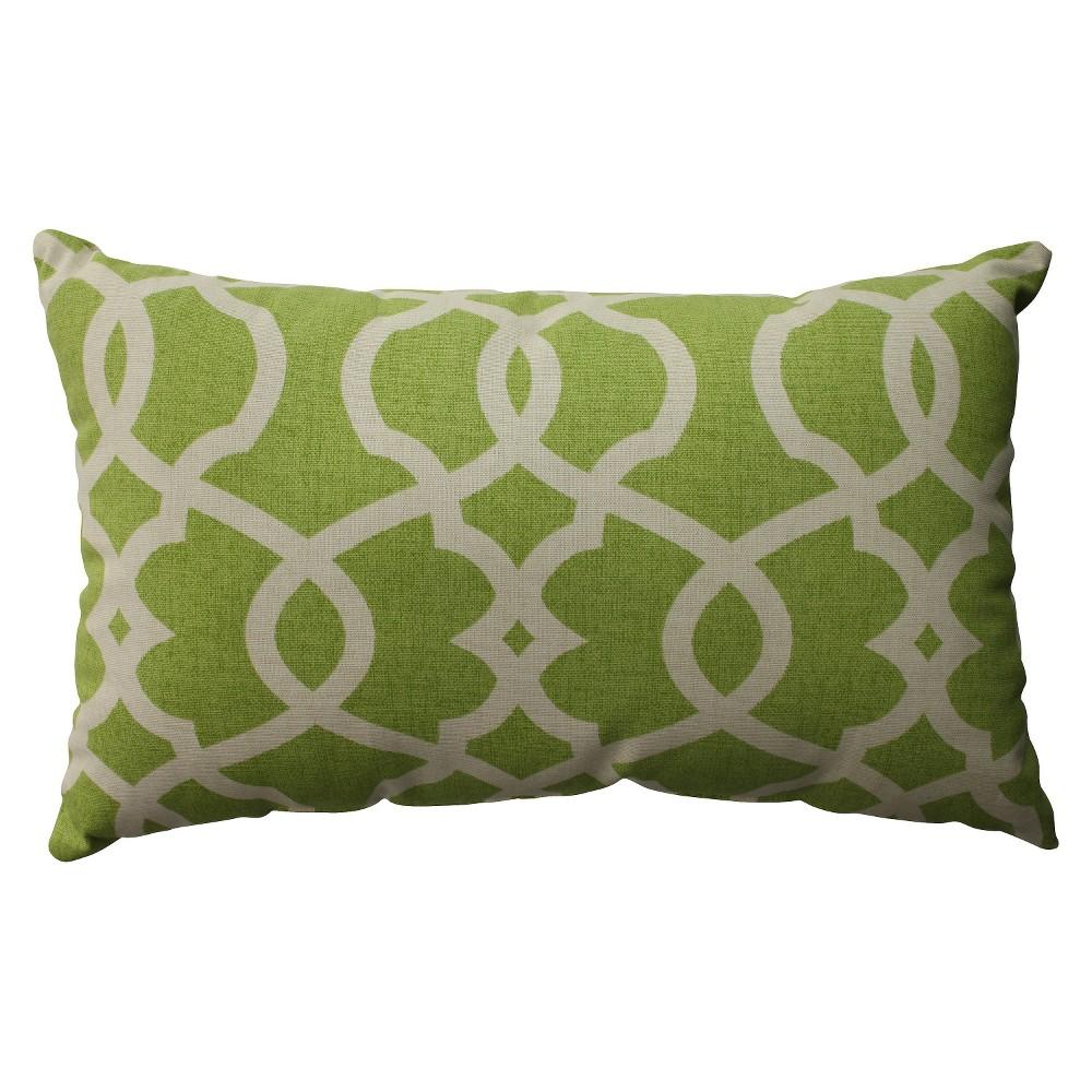 Green Emory Lumbar Throw Pillow 11.5