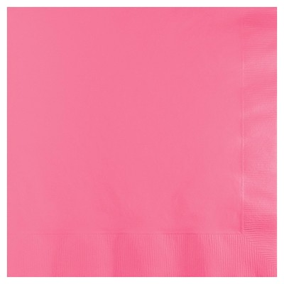 50ct Candy Pink Disposable Napkins
