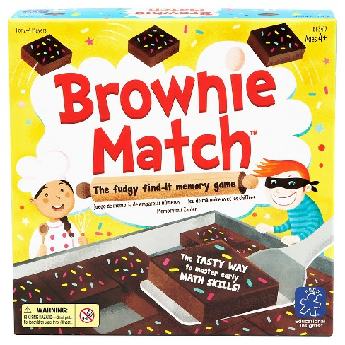 Educational Insights Brownie Match Game - image 1 of 3