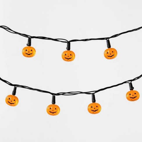 20ct LED Pumpkin Halloween String Lights - Hyde & EEK! Boutique™ - image 1 of 2
