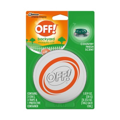 OFF! Mosquito Coil Starter