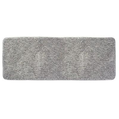 mDesign Heathered Soft Microfiber X-Long Accent Rug Mat/Runner